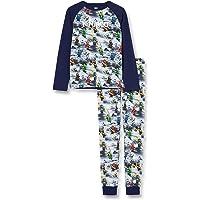 LEGO Boy's Mw-Schlafanzug Ninjago Pajama Set, 590 Dark Navy, 146
