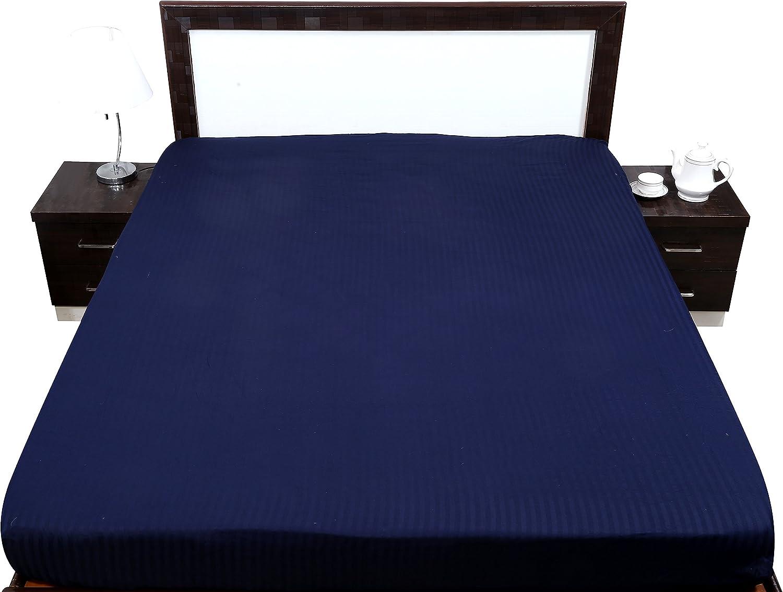 MAx Staunch - Sábana Bajera Ajustable de algodón Egipcio de 650 ...