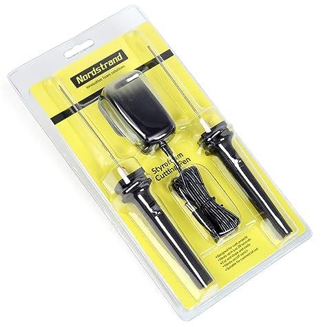 Nordstrand Cortador de espuma caliente Cable cuchillo eléctrico – de espuma de poliestireno poliestireno pluma herramienta