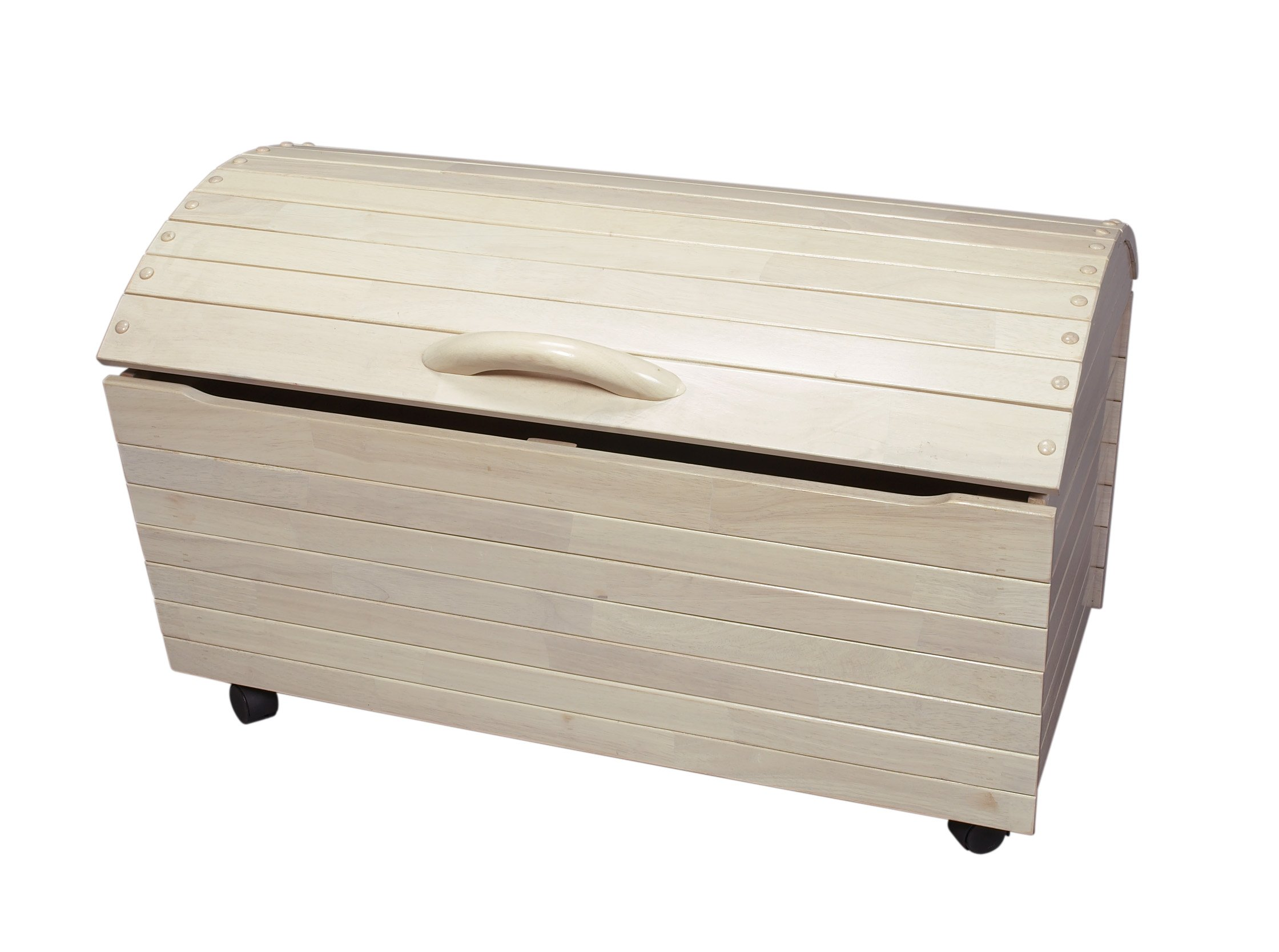 Gift Mark's Deluxe Treasure Chest, White Wash by Gift Mark