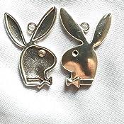 160 PCS Jewelry Making Charms X8KR0U Playboy Rabbit Antique Silver Tone Necklace Bracelet Repair Bulk Lots Pendant Findings
