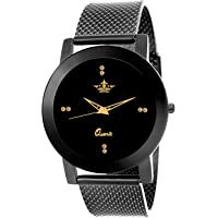 Swisso Quartz Movement Analogue Black Dial Women's Watch - Swisso-0133