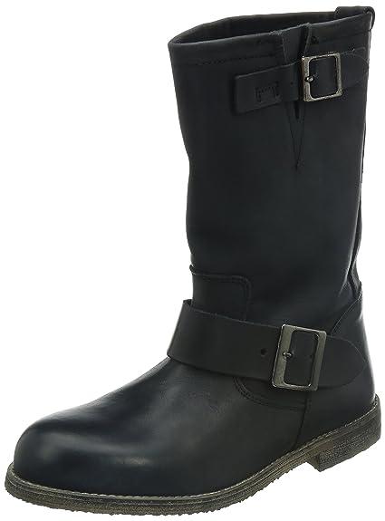 13980 Women's Boots Buffalo Amazon Biker co Leather London Washed 5IRnIHwZq
