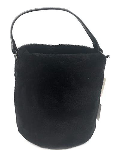 70cbc61fa8c2 Amazon.com  KC Jagger Faux Fur Tote Bag - Black  Shoes