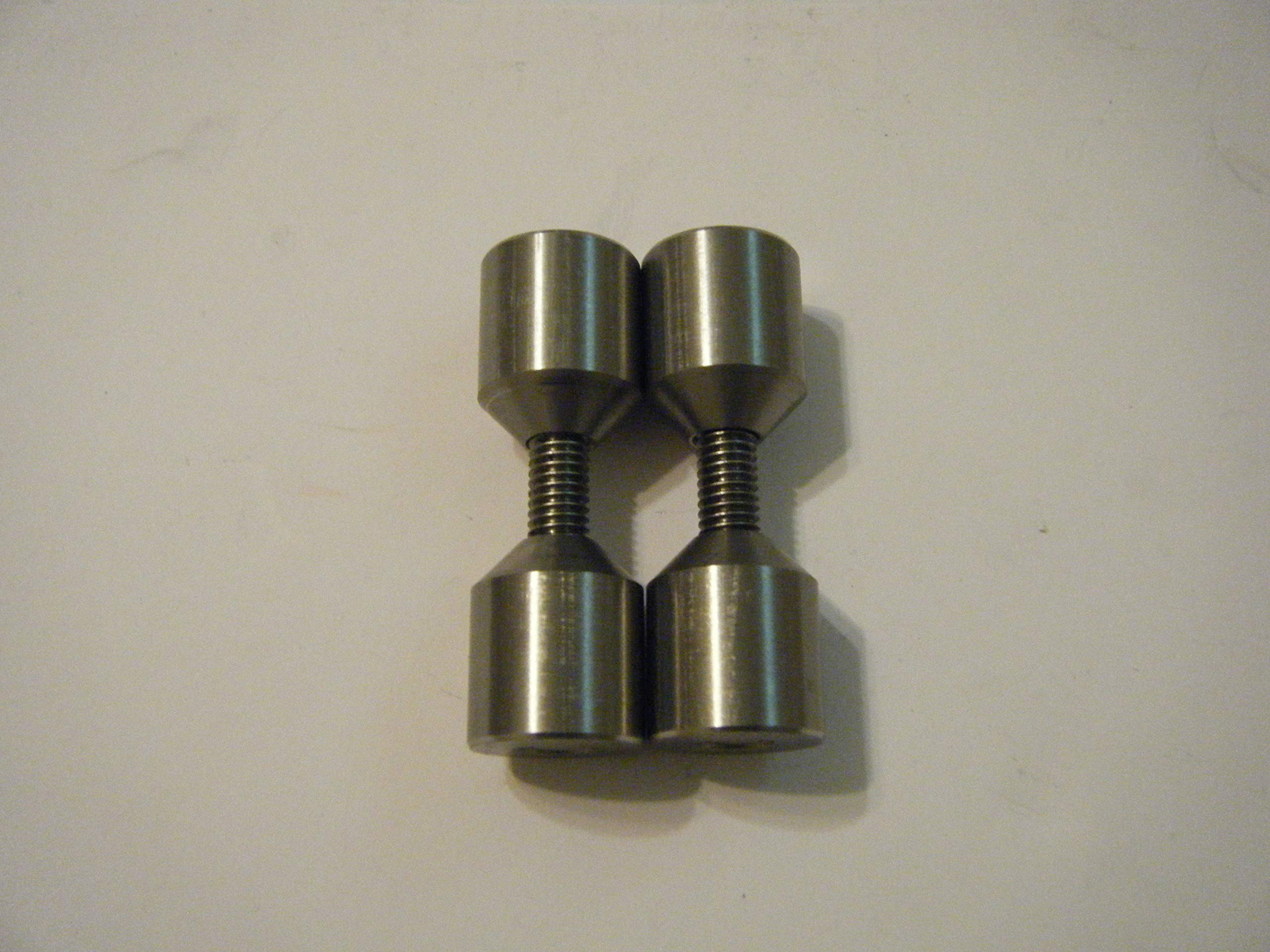 1'' Davis Stainless Two Hole Pins