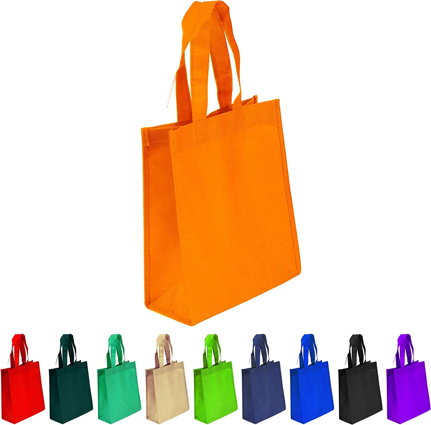 small cloth bags with handles