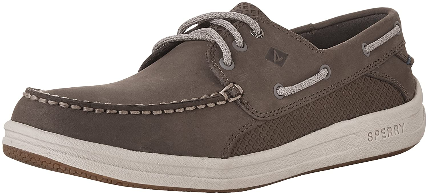 Sperry Top-Sider Men's Gamefish 3-Eye Boat Shoe 7 D(M) US|Grey