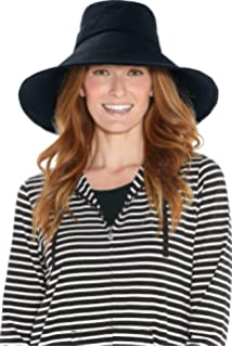 4e174ff2 Solumbra Rolled Brim Hat - 100+ SPF Sun Protective at Amazon Women's ...