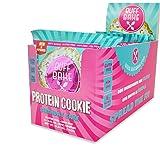 Buff Bake, Protein Cookie, Birthday Cake, Gluten Free & Non GMO, Pack of 12