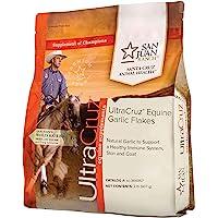 UltraCruz Equine Garlic Flakes Supplement for Horses, 2 lb (90 Day Supply), Model Number: sc-364967