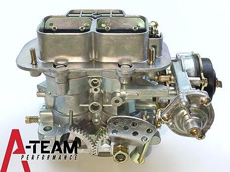 A-Team rendimiento 428 Universal para carburador Weber 38 x 38 2 barril Fiat Renault