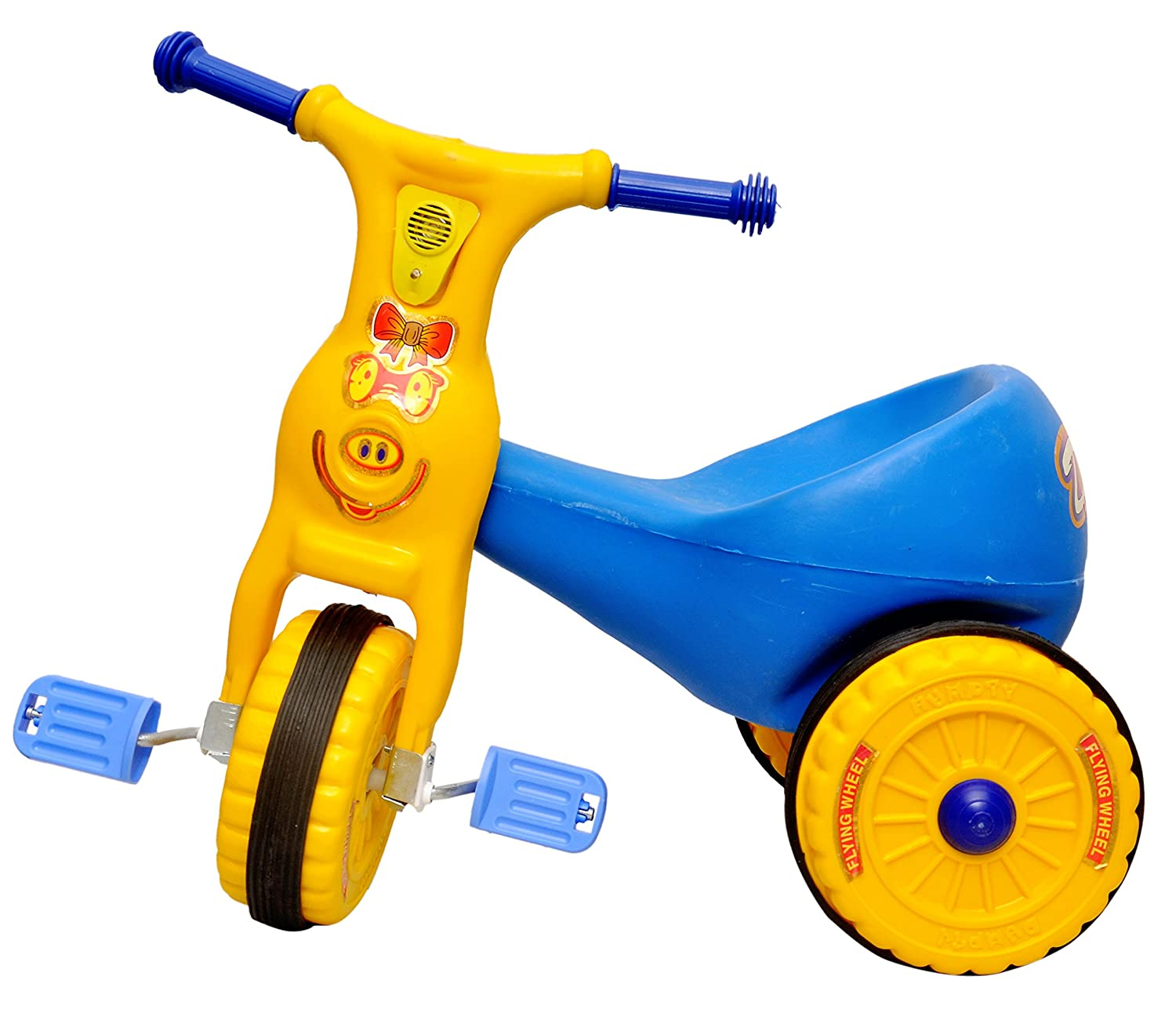Toyshine Ducky Baby Tricycle Ride-On Bicycle, ABS Plastic,