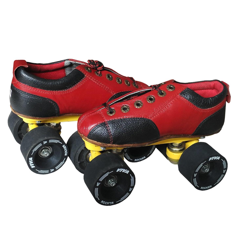c2d6c9c57024f1 Buy Viva Rocker Professional Level Shoe Skates Online at Low Prices in  India - Amazon.in