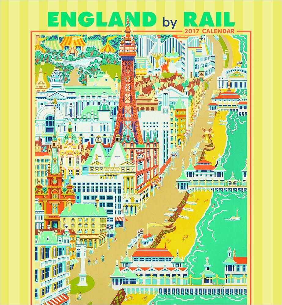 Download 2017 England by Rail Wall Calendar ebook