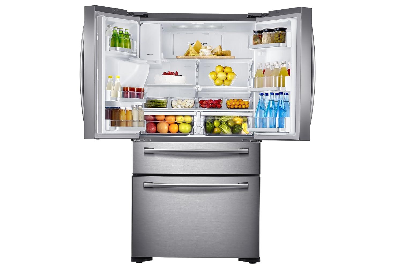 Side By Side Kühlschrank French Door Samsung : Rf hsesbsr kühlschrank mit french door samsung de