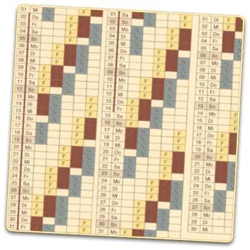 Calendrier Work Shift.Shift Calendar