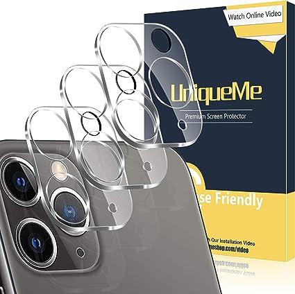 Protector de Pantalla C/ámara Cristal Vidrio Templado Premium-1 Pack C/ámara Trasera Lente Pantalla para iPhone XR