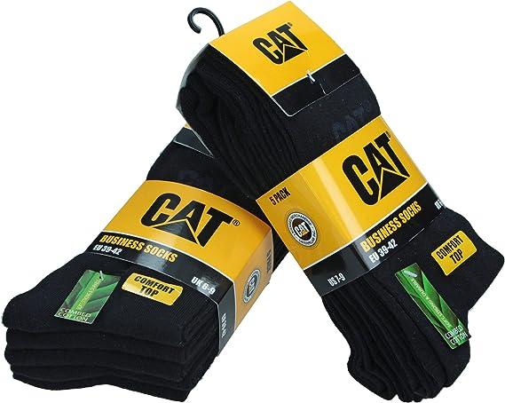 CAT Caterpillar SONDERANGEBOT 12Paar Arbeitssocken 36 37 38 39 40,Schwarz,Socken