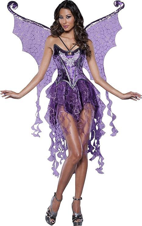Generique - Disfraz de NINFA para Mujer -Premium M: Amazon.es ...