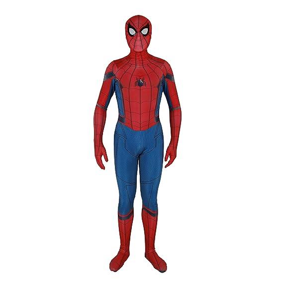 YuanMan 2019 - Disfraz de Spiderman para Cosplay, Unisex, Licra y ...