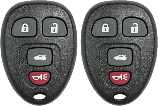 KeylessOption Keyless Entry Remote Control Car Key Fob Replacement for 15252034