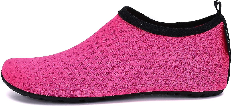 SAGUARO Ni/ños Zapatos de Agua Descalzo Barefoot Respirable Calcetines de Nataci/ón Aire Libre Piscina de Playa Surf Yoga Calzado
