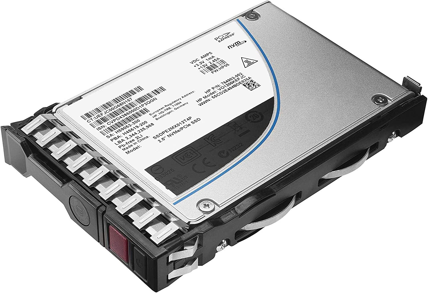 HPE Read Intensive Solid State Drive Hot-Swap firewire/_esata 2.5 inches 872855-B21