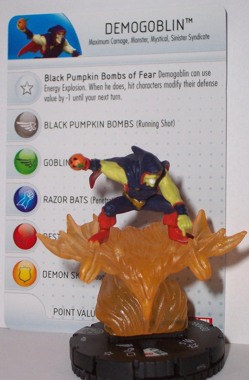Heroclix 029 Marvel Amazing Demogoblin Spider-man: Demogoblin 029 with Character Card Heroclix B00BBPRQ5K, モモヤマチョウ:7b40bfc8 --- 2017.goldenesbrett.net