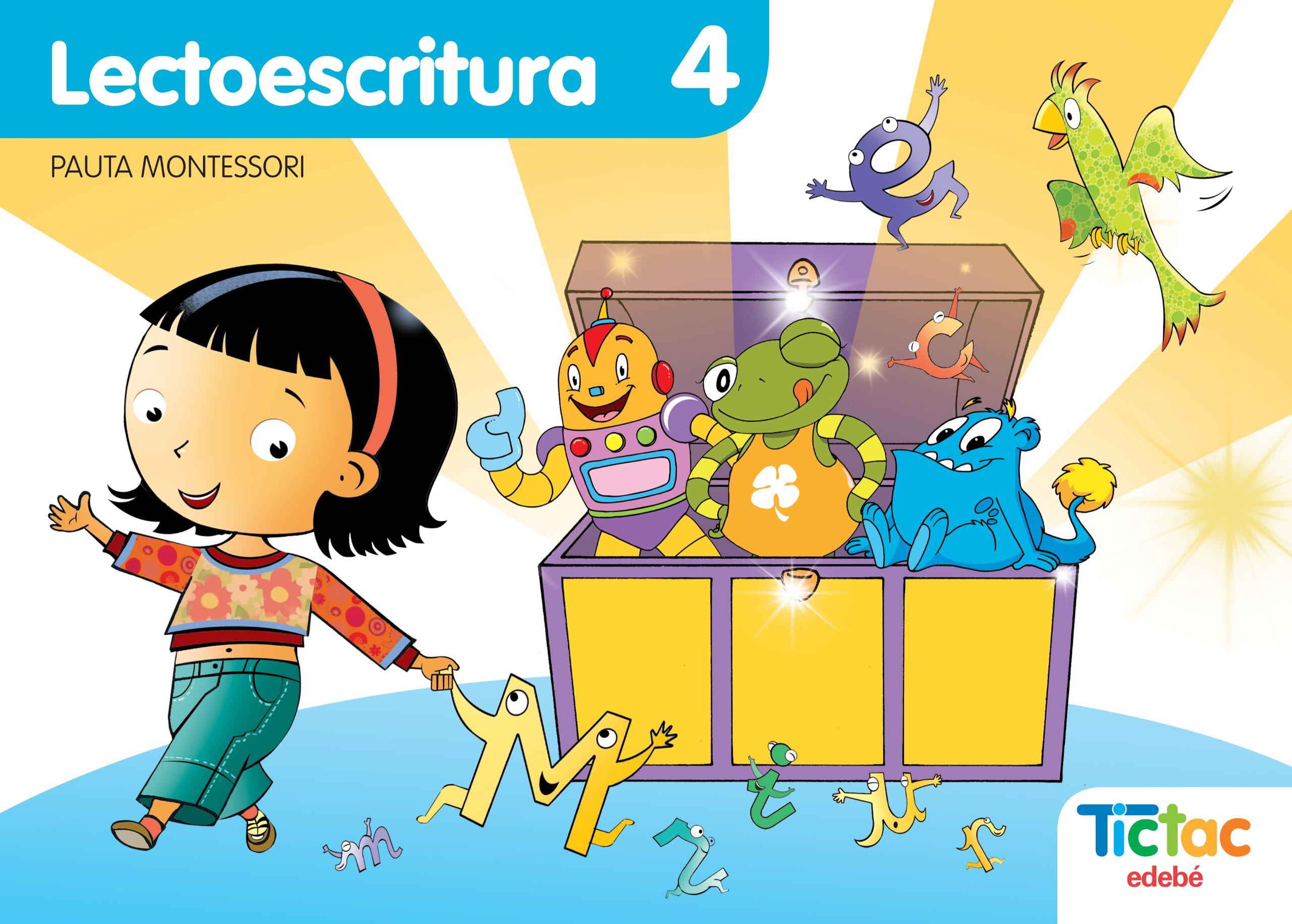 Lectoescritura 4 Pauta Montessori - 9788423696611: Amazon.es: Obra  Colectiva Edebé: Libros