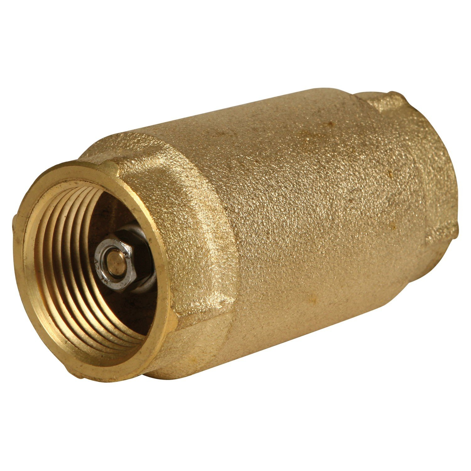 1'' AMERICAN GRANBY NO LEAD CHECK VALVE CVNL100BS BRASS for WATER WELL PUMP PRESSURE TANK INSTALLATION
