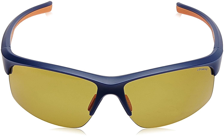 Polaroid Herren Sonnenbrille Pld 7018/S MU Lox, Orange (Mtbl Cryorng/Yellow Pz), 68