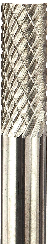 Double Cut 1//4 Diameter 1//4 Shank Kodiak Cutting Tools KCT122637 USA Made SA-1 Cylindrical Carbide Bur