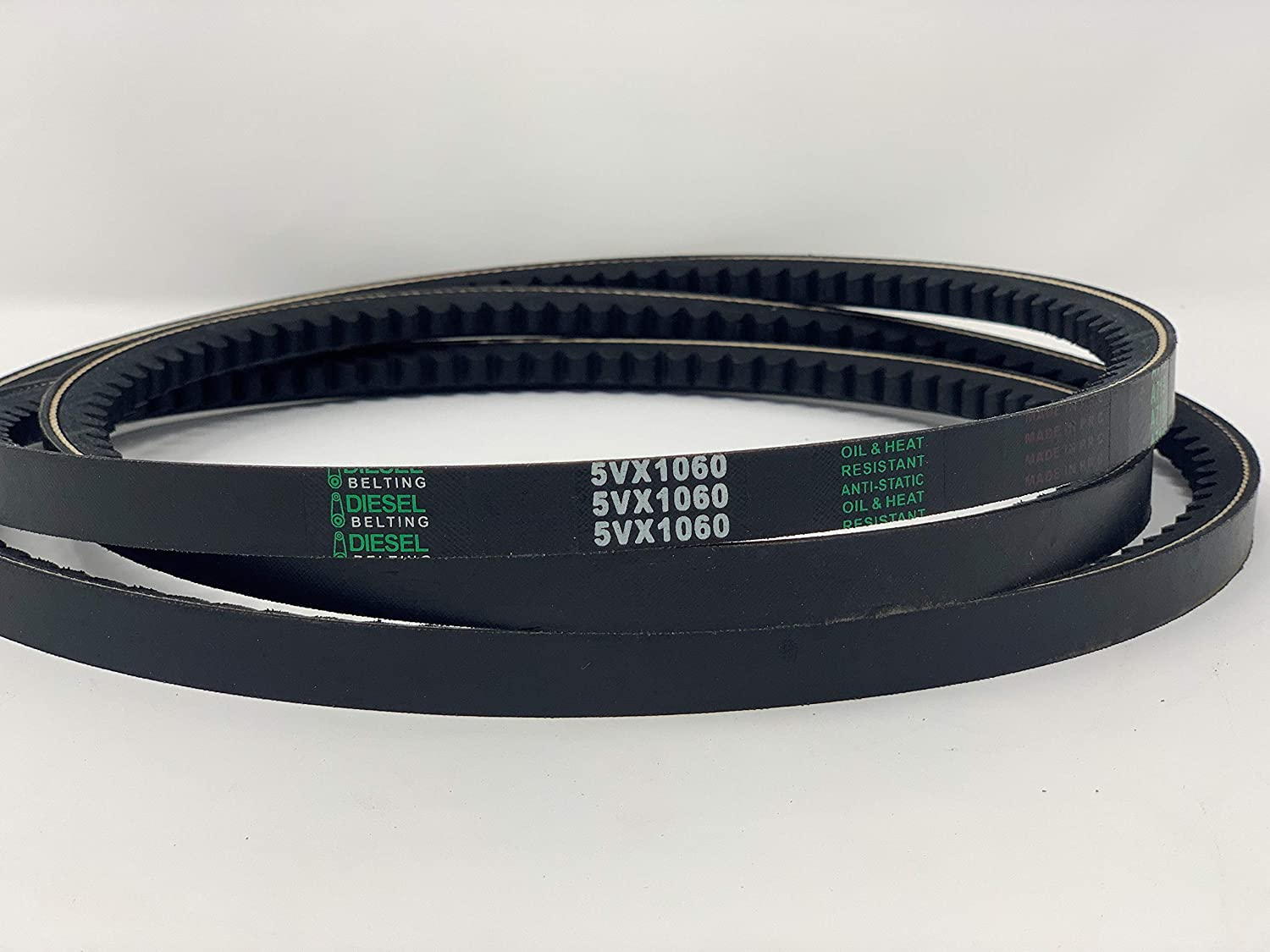 5VX1060 Cogged V-Belt 5//8 x 1006in Outside Circumference