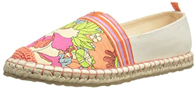 The Sak Womens Ella Color Block Apricot Flower Power - Flats
