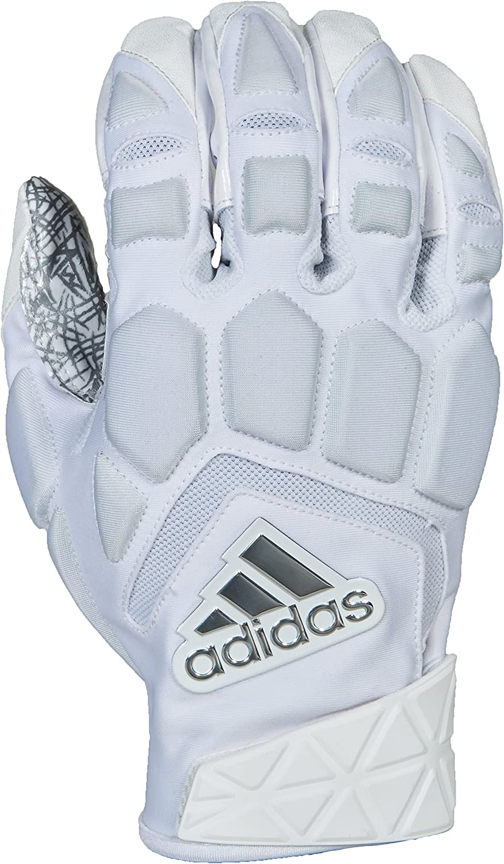 adidas メンズ Freak Max フットボールグローブ ホワイト/ホワイト 3X-Large