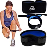 Crosstrap Shin Splint by MDUB Medical. 1-Pack. Adjustable, Neoprene, Shin Splints Leg Compression Strap Support for Pulled Calf Muscle Pain Torn Calf Strain Injury, Fits Men and Women, Black