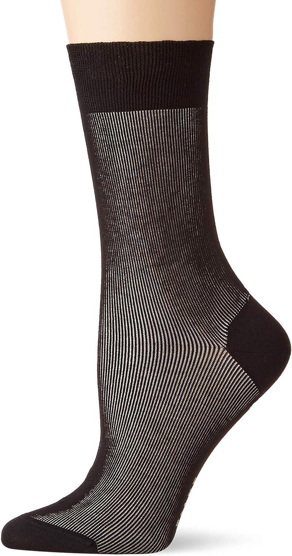 Gr/ö/ße 35-42 Moderner Versch Baumwollmischung FALKE Damen Socken Soft Study 1 Paar Farben sommerlicher Damenstrumpf in kr/äftigen Farben