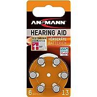 Ansmann 5013243 - Pila para audífono 13 zinc