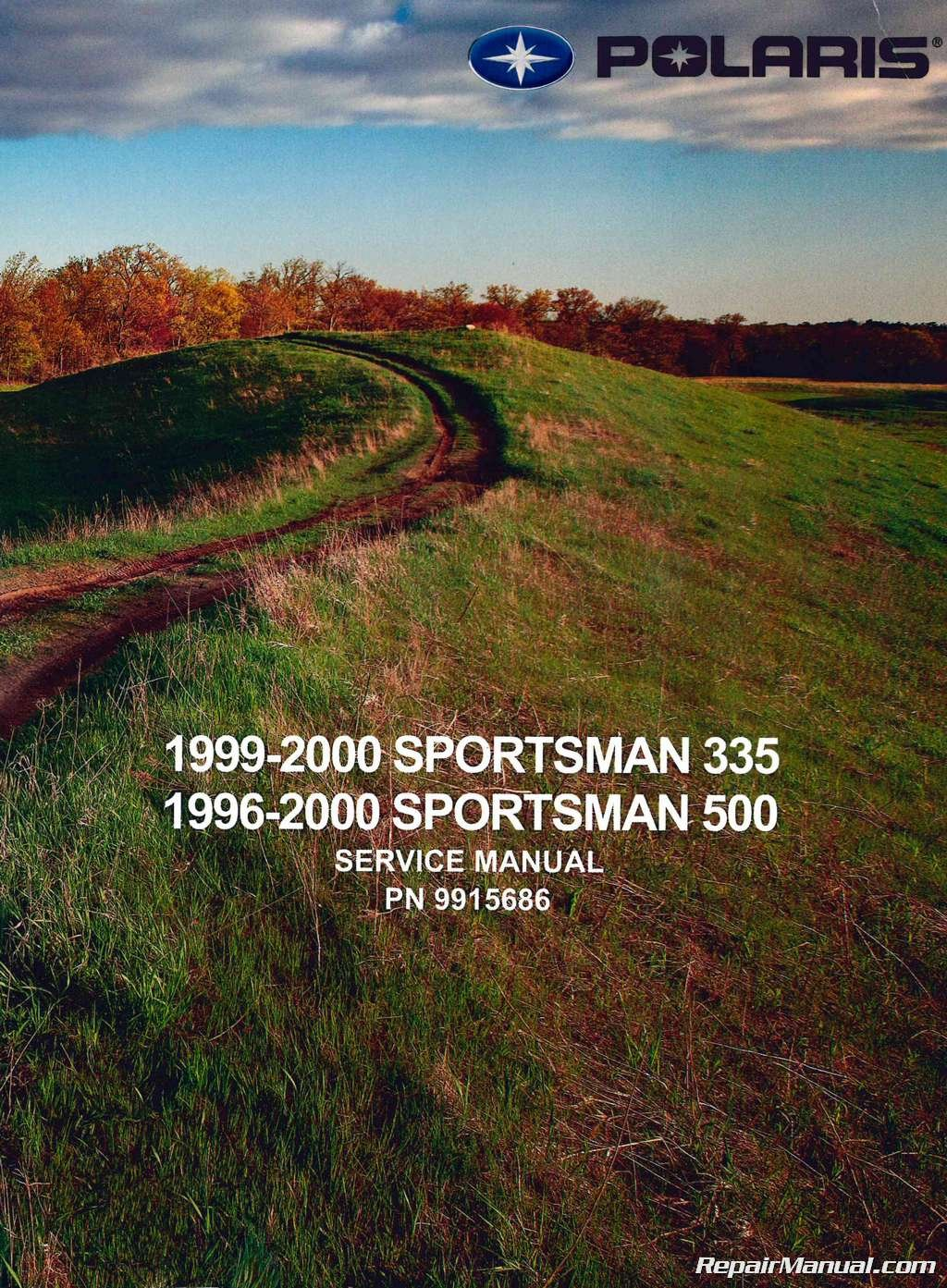 9915686 1996-2000 Polaris Sportsman 335 500 ATV Service Manual:  Manufacturer: Amazon.com: Books