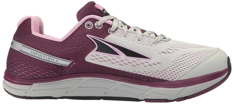 Altra Women's Intuition 4 Running Shoe B01HNJW30K 10 B(M) US|Gray/Purple