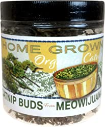 Meowijuana Catnip Buds, Feline Approved, Infused with Maximum Potency Your Cat is Guaranteed to go Crazy for!
