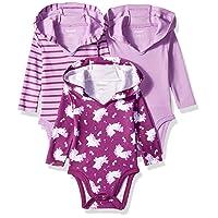 Ultimate Baby Flexy 3 Pack Hoodie Bodysuits