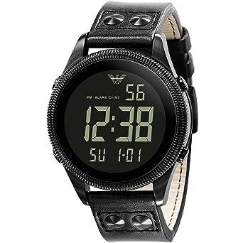 new product 6266e d65ed Amazon | エンポリオ アルマーニ EMPORIO ARMANI デジタル ...