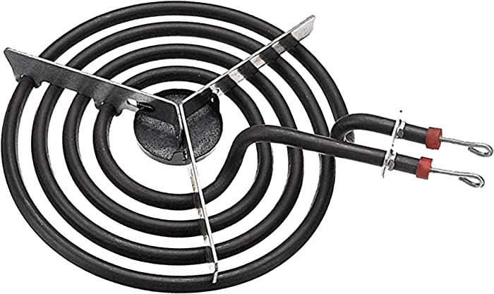 "7"" Stove Surface Burner Heating Element, 4 Turns – Replaces ERS48Y21 TJ90SP21YA SP21YA 814153"