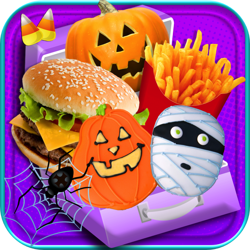 Halloween School Lunch Maker -