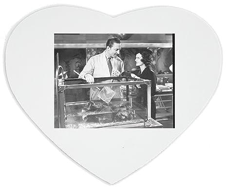 warrren Williams trabajo en una pecera corazón alfombrilla de ratón