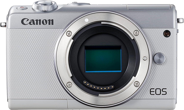 Canon Eos M100 Systemkamera Gehäuse Kamera Body 3 Zoll Kamera