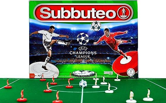 Eleven Force-81137 Juego Champion Leage Subbuteo Playset UEFA ...