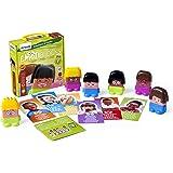 Miniland - Set de personajes con piezas intercambiables (32350)
