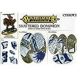 Warhammer edad de Sigmar destrozado Dominion 40mm /& 65mm Redondo Bases bebederos